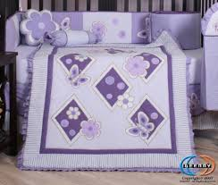 Boutique Crib Bedding Boutique Brand New Geenny Lavender Butterfly 13pcs Baby Nursery