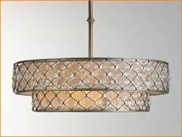 extra large drum l shades chandelier inspiring rectangular drum shade chandelier stunning