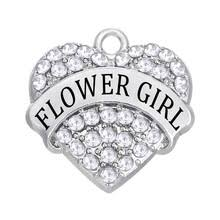 flower girl charm bracelet compare prices on flower girl charm bracelet online shopping buy