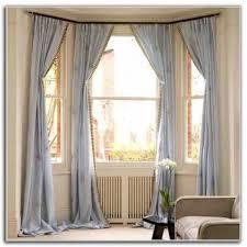 Modern Bay Window Curtains Decorating Curtain How To Decorate A Bay Window Ledge Bay Window Curtain