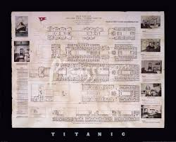 printable titanic deck plans titanic deck plan fine art print by