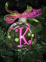 personalized ornaments 8 00 via etsy or make them