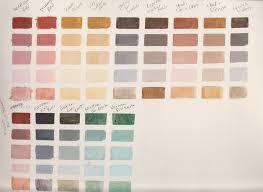 oil paint color chart ideas vintage paint color chart ebay