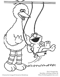 9 sesame street coloring pages images elmo