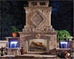 fireplace astounding outdoor living space decorating design ideas