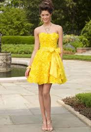 yellow dress for wedding for a bridesmaid dress in the summer wedding dresses