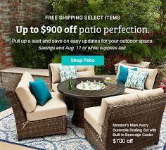 Eddie Bauer Patio Furniture Sam U0027s Club Up To 900 Off Patio Furniture Milled