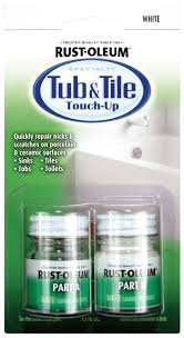 How To Get Rust Out Of Bathtub Rust Oleum 244166 Specialty Kit Tub And Tile Touch Up White