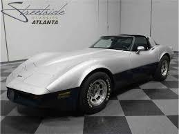 1981 white corvette 1981 chevrolet corvette for sale on classiccars com 40 available