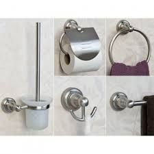 Bathroom Hardware Sets Farber 5 Piece Bathroom Accessory Set Bathroom
