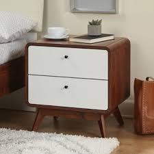 modern nightstands u0026 bedside tables shop the best deals for dec