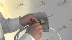 Low Voltage Soffit Lighting Kits by Thin Recessed Led Lights Driver Installation Youtube