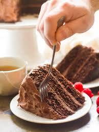 vegan mocha layer cake connoisseurus veg
