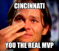 Brady Crying Meme - 22 meme internet cincinnati you the real mvp realmvp cincinnati
