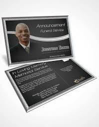 funeral service announcement template funeral cards prayer cards