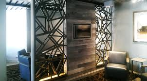 wall partition private office space custom pattern wall partition wood doors