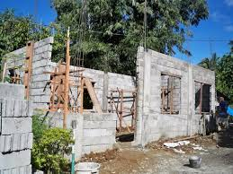 building a house building a concrete block house part 2 philippines