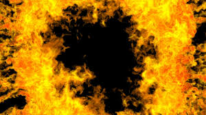 halloweenbackground 3d fire explosion igniting fiery animated halloween background