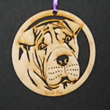 shar pei ornament the wood cottage store powered by