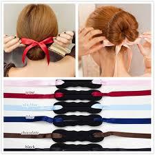 howtododoughnut plait in hair amazon com jjmg new 6pcs bun maker diy women girls perfect hair
