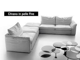 divani in piuma d oca prova la morbidezza divano in pelle five tino mariani