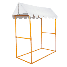 Striped Canopy by White Tabletop Tent Tabletop Tents And Ice Cream Party