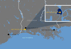 Lake Charles Louisiana Map by Tellurian Tell Stock Message Board Investorshub