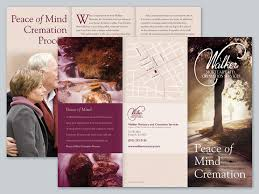 home design business funeral home brochure design brochures for your mortuary or