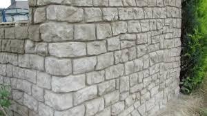 Steine Fur Gartenmauer Mauer Aus Beton In Steinoptik Selber Verkleiden Youtube