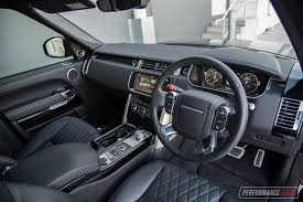range rover interior 2017 2017 range rover svautobiography dynamic review video
