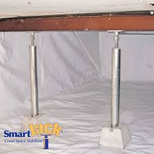 Basement Systems Of New York by Crawl Space Structural Support Jacks In Ny Crawl Space Jack