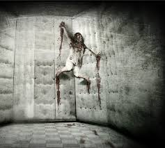 psych ward halloween decorations pic inspiration attach a static prop body to your padded walls