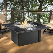 amazon com outdoor great room napa valley crystal fire pit table