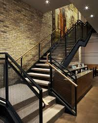Interior Design Stairs by Best 25 Industrial Stairs Ideas On Pinterest Industrial