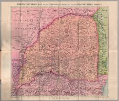 Detailed Map Of Africa by File Philips U0027 Detailed Map Of The Transvaal With Part Of The