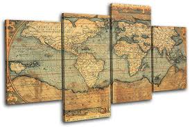 Planked Usa Wall Art Panels by Us Map Wall Art