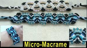 bracelet tutorials youtube images Beading4perfectionists micro macrame bracelet with swarovski and jpg
