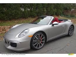 2013 porsche 911 4s cabriolet 2013 porsche 911 4s cabriolet in platinum silver metallic