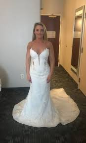 pnina tornai 4348 3 000 size 12 used wedding dresses