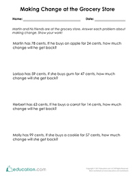 2nd grade money word problems resources education com