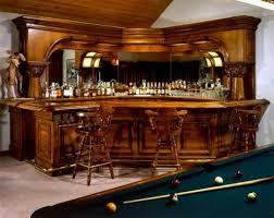 home bar design concepts striking varnished traditional wooden home bar design nestled in a