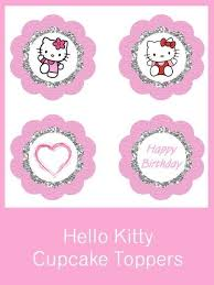 hello cupcake toppers hello cupcake toppers free pdf printables