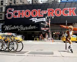 Winter Garden Theater Broadway - cats u0027 cat reacts as u0027school of rock u0027 takes over broadway u0027s winter