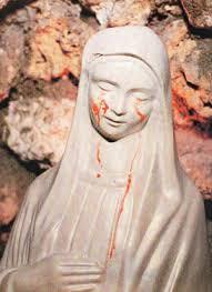 imágenes religiosas que lloran sangre lalongo cuando la virgen y los santos lloran sangre