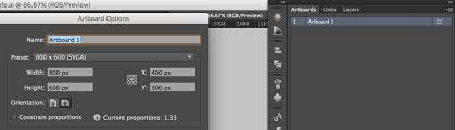 adobe illustrator how to change artboard size in ai cs6