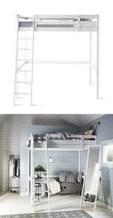 Build A Loft Bed With Storage by Best 25 Loft Bed Frame Ideas On Pinterest Lofted Beds Loft