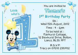baby mickey 1st birthday baby mickey 1st birthday invitations eysachsephoto