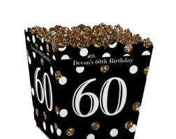 60th birthday party favors etsy