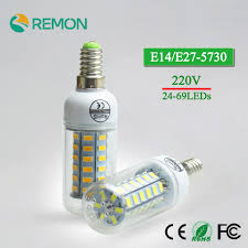 Luminous Led Light Bulbs by Online Get Cheap E14 Led Lamp High Luminous 5730smd Led Light Corn