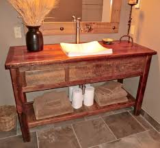 use of rustic bathroom vanities blogbeen